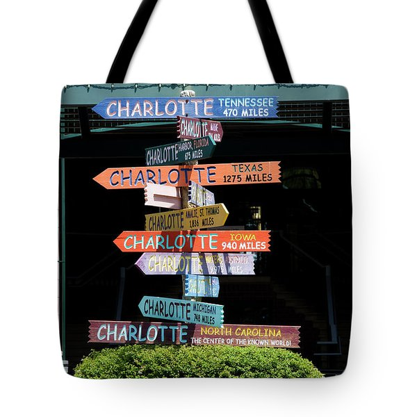 Charlotte Signs Tote Bag