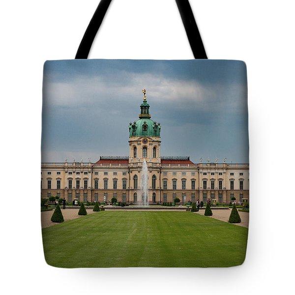 Charlottenburg Palace Tote Bag by Nichola Denny