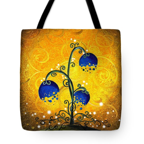 Charmed September Tote Bag by Cindy Thornton