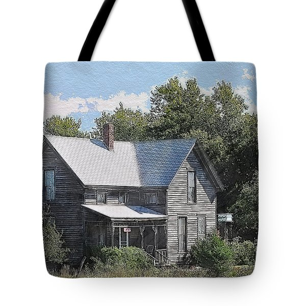 Charming Country Home Tote Bag by Liane Wright