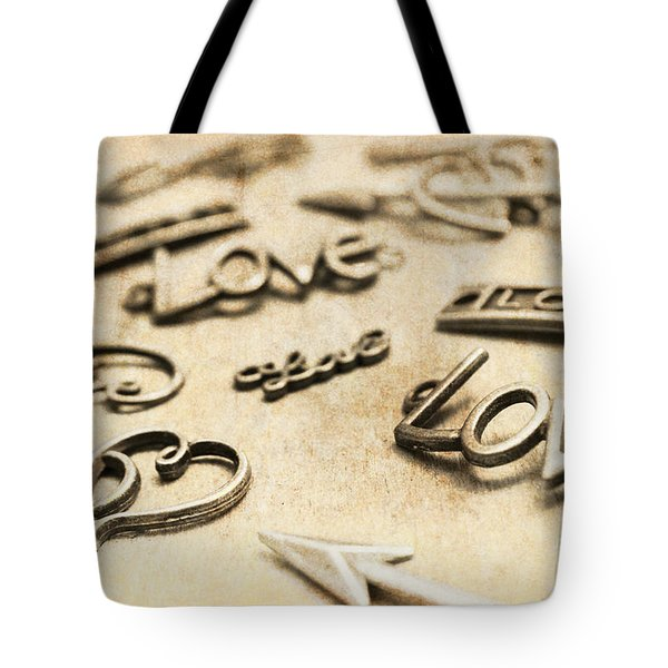 Charming Old Fashion Love Tote Bag