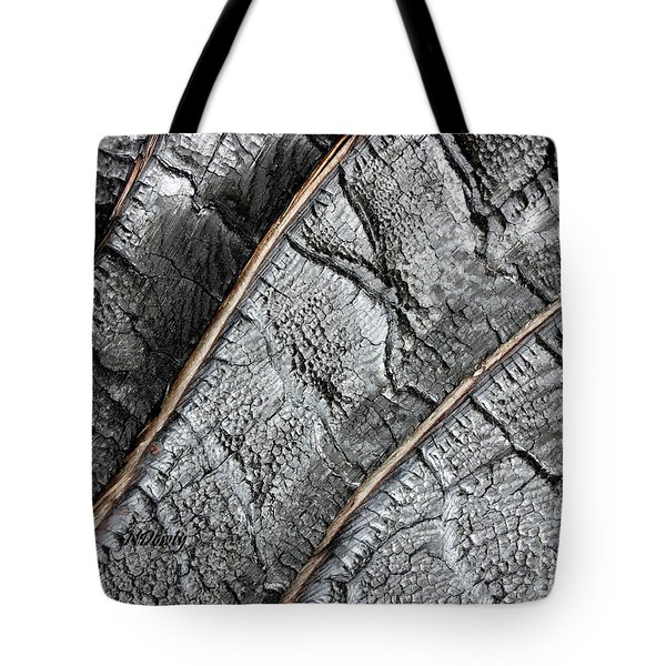 Charred Pine Bark Tote Bag
