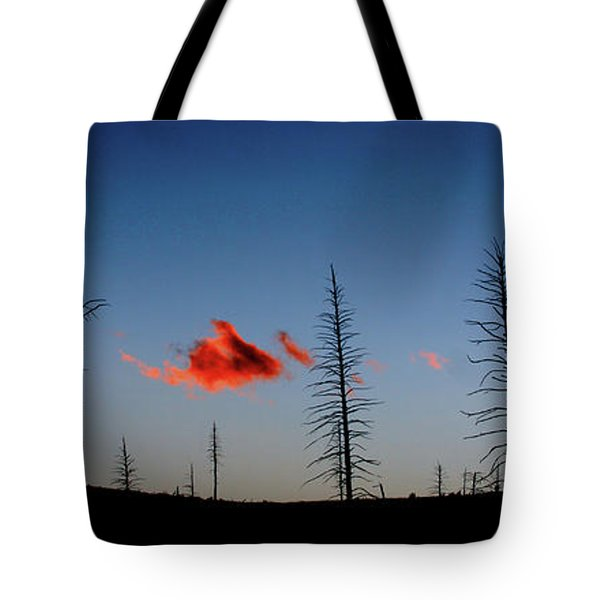 Charred Sunset Tote Bag