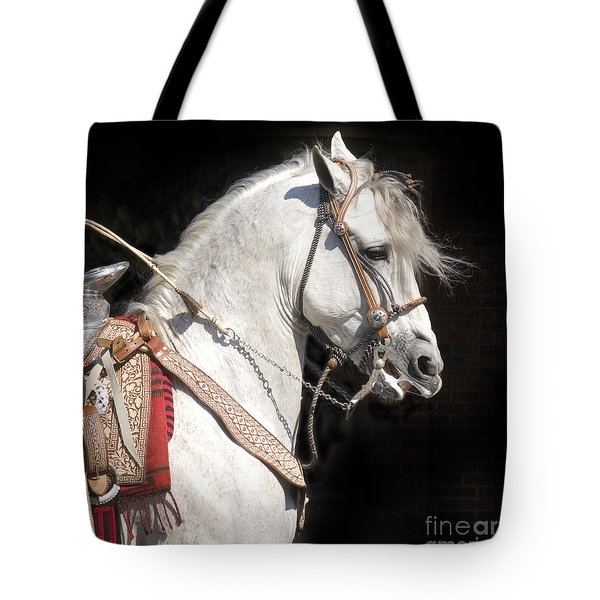 Charro Stallion Tote Bag