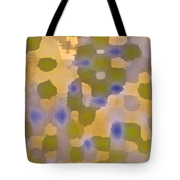 Chartreuse Two  By Rjfxx. Original Abstract Art Painting. Tote Bag