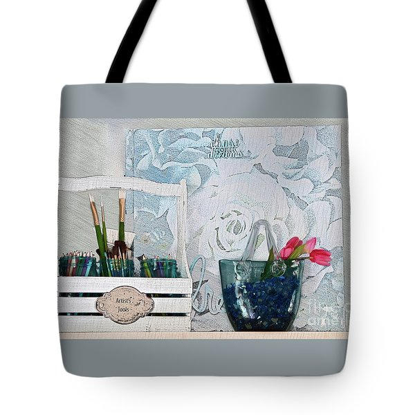 Chase Your Dreams And Create Tote Bag