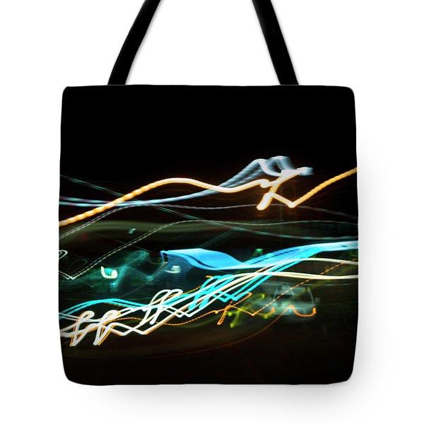 Chasing Cars Tote Bag
