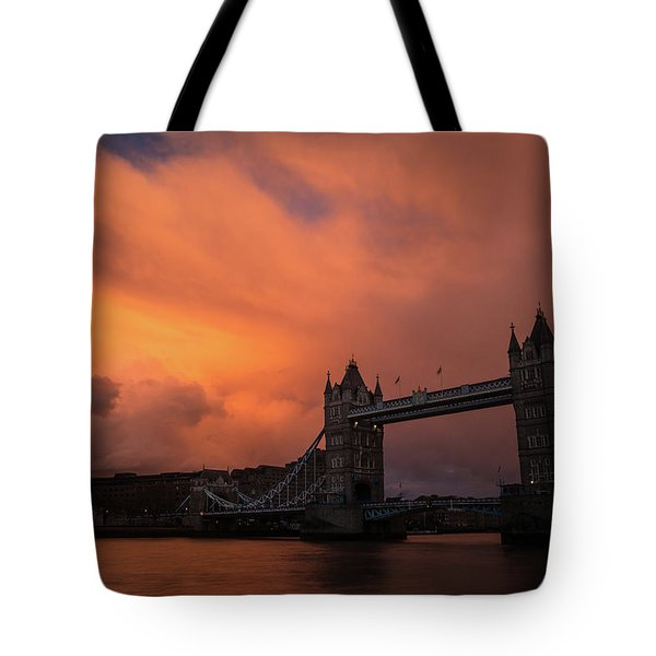 Chasing Clouds Tote Bag