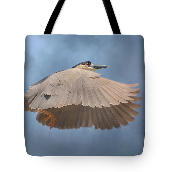 Chasing Clouds Tote Bag by Fraida Gutovich