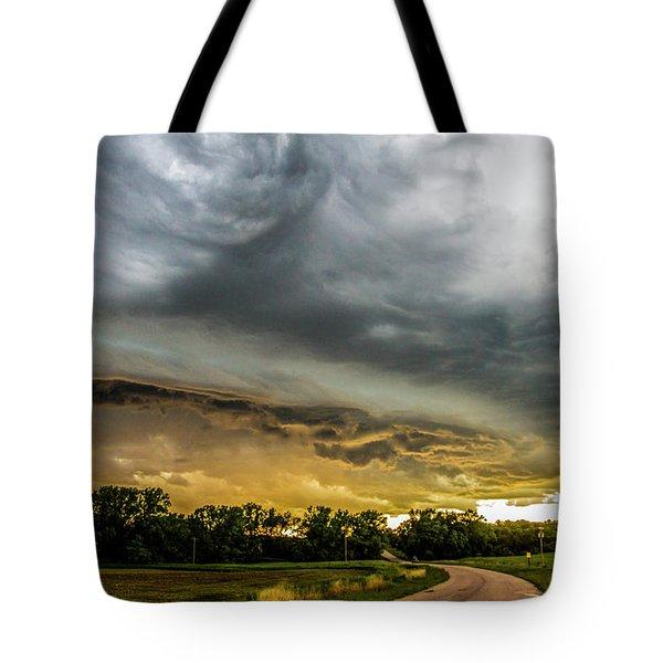Chasing Nebraska Stormscapes 074 Tote Bag
