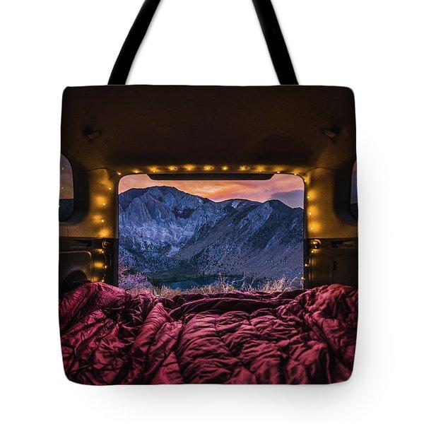 Chasing Sunset Tote Bag