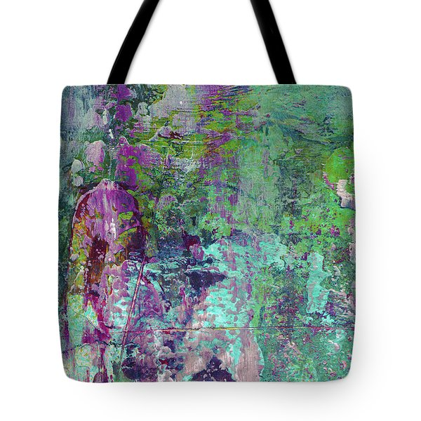 Chasing The Dream - Contemporary Colorful Abstract Art Painting Tote Bag