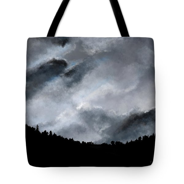 Chasing The Storm Tote Bag