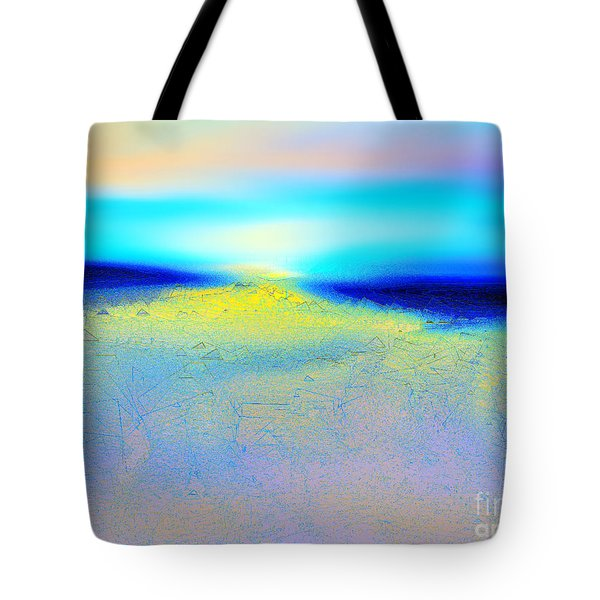 Chasing The Sun  Tote Bag by Yul Olaivar