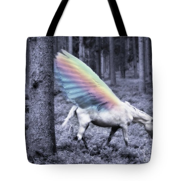 Chasing The Unicorn Tote Bag