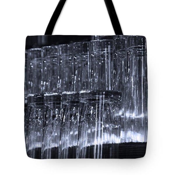 Chasing Waterfalls - Blue Tote Bag