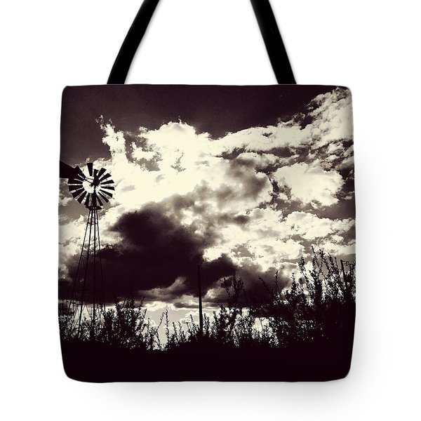 Chasing Windmills Tote Bag
