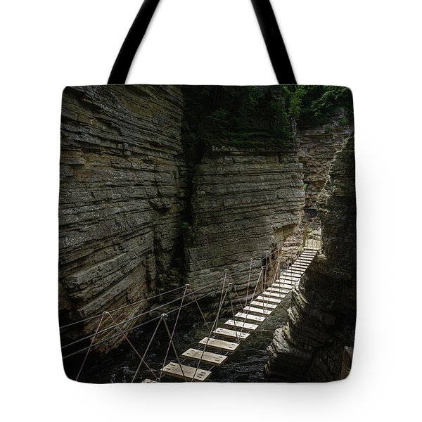 Chasm Bridge Tote Bag