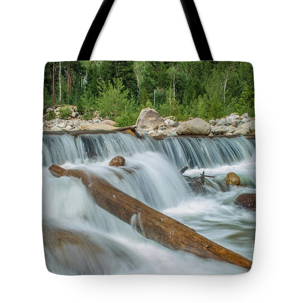 Tote Bag featuring the photograph Chasm Falls by Tony Baca