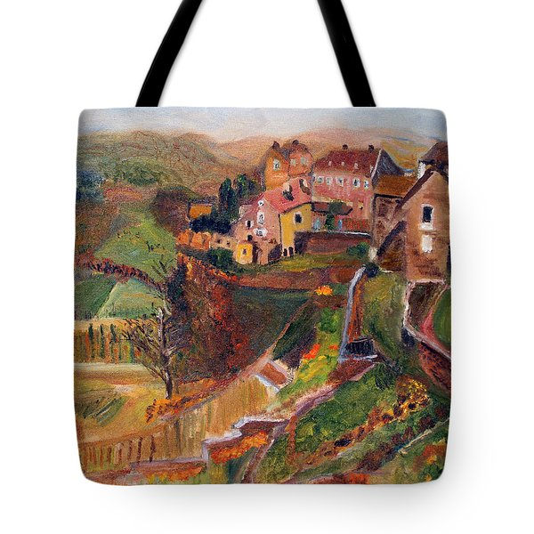 Chateau Chalon Tote Bag