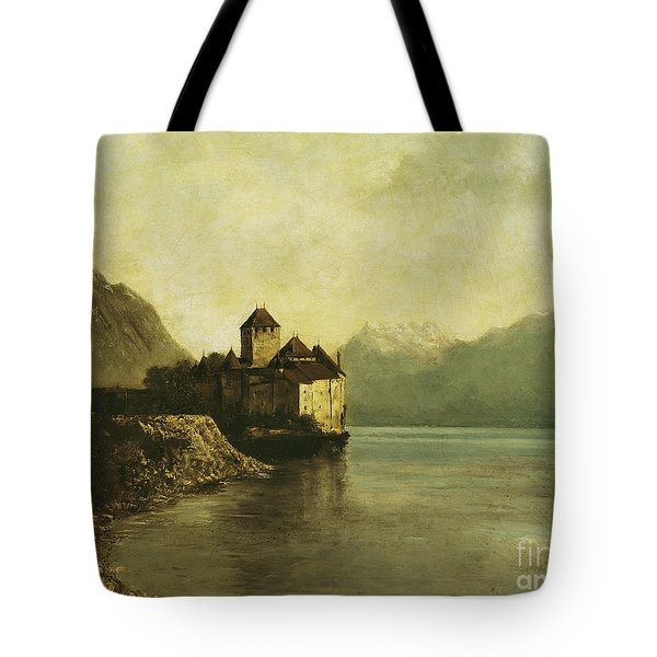 Chateau De Chillon Tote Bag