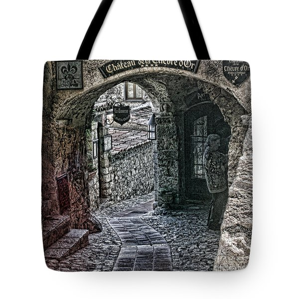 Chateau De La Chevre D'or Tote Bag