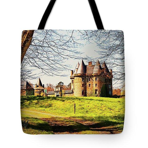 Chateau De Landale Tote Bag