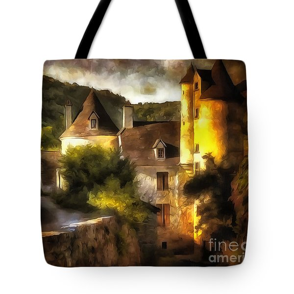 Chateau France I Tote Bag by Jack Torcello