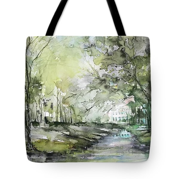 Chateau In Provence  Tote Bag
