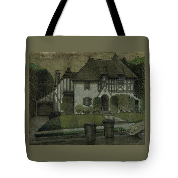 Chateau In The City Tote Bag