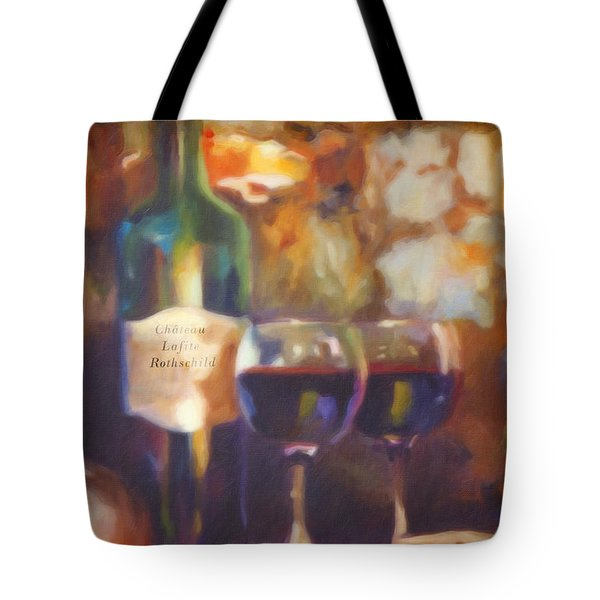 Chateau Lafite Rothschild Tote Bag by David Millenheft
