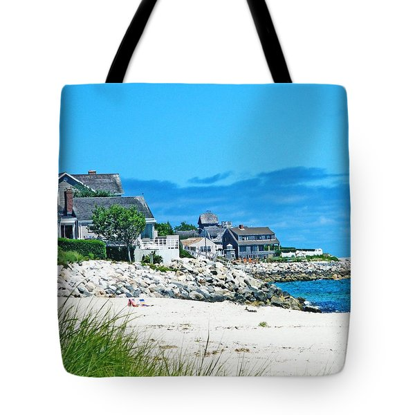 Chatham Cape Cod Tote Bag by Lizi Beard-Ward