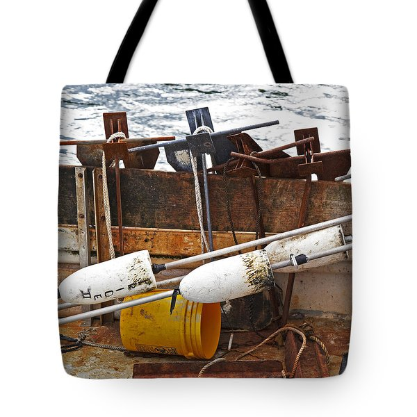 Tote Bag featuring the photograph Chatham Fishing by Charles Harden