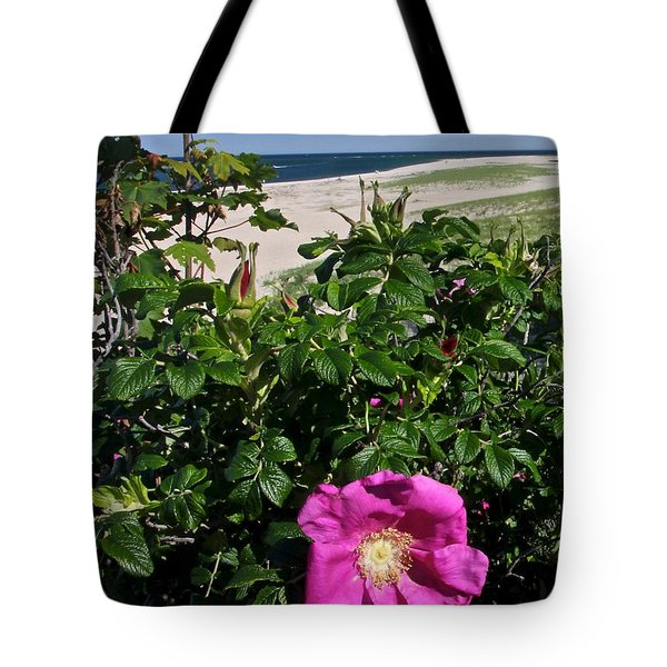 Chatham Flower Tote Bag by Jim Gillen