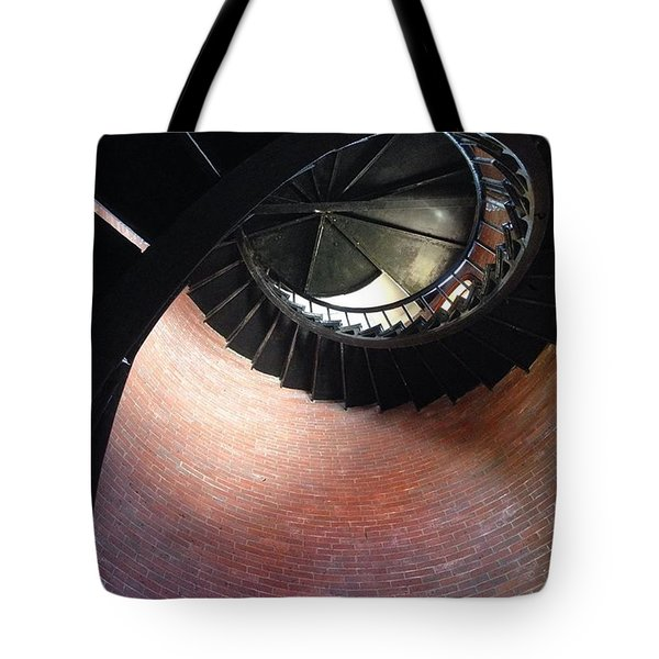 Chatham Light Spiral Tote Bag
