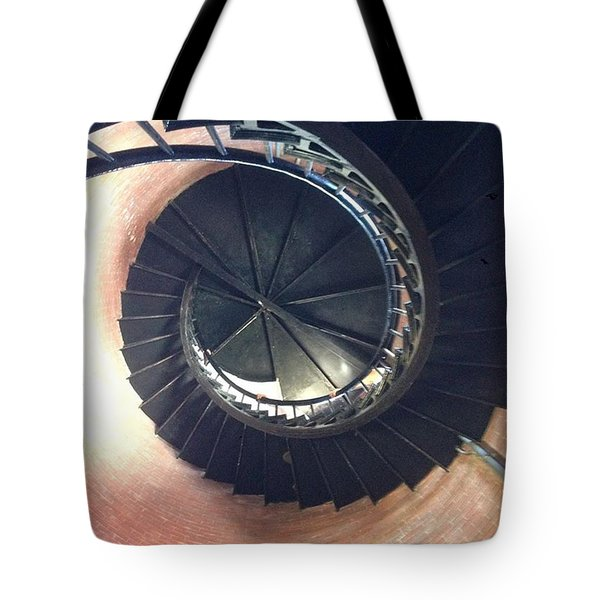 Chatham Light Stairwell Tote Bag