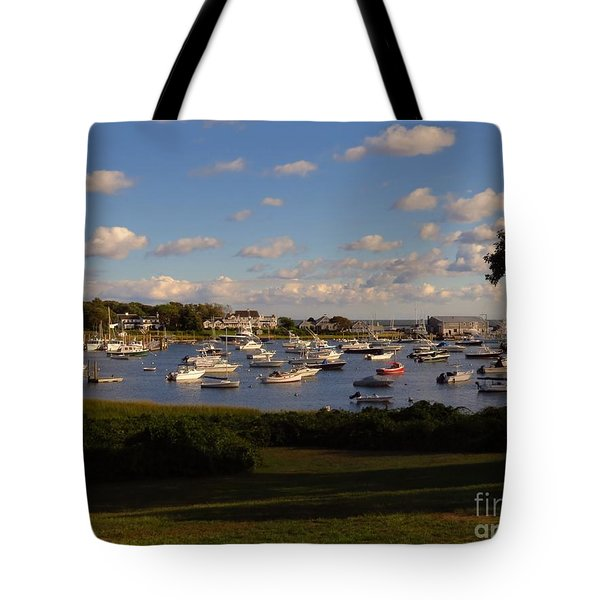Chatham Marina Tote Bag