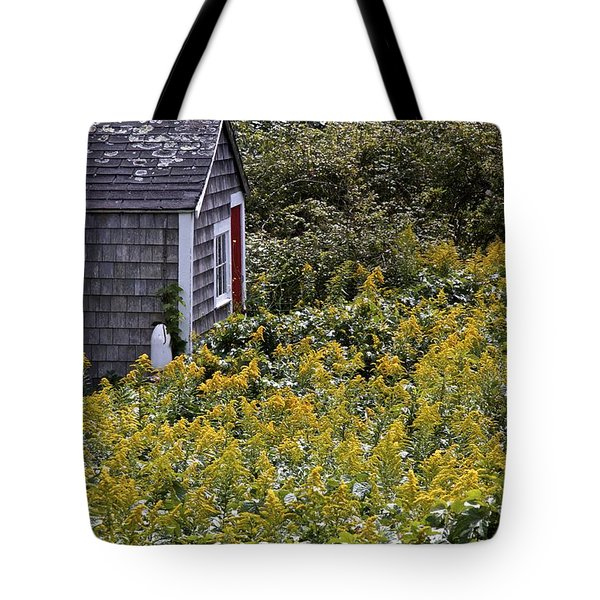 Chatham Shed Tote Bag by Jim Gillen