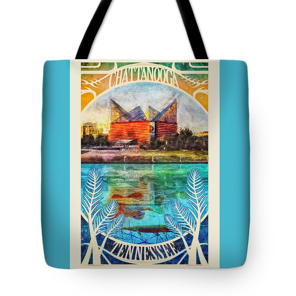 Chattanooga Aquarium Poster Tote Bag