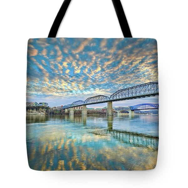 Chattanooga Has Crazy Clouds Tote Bag