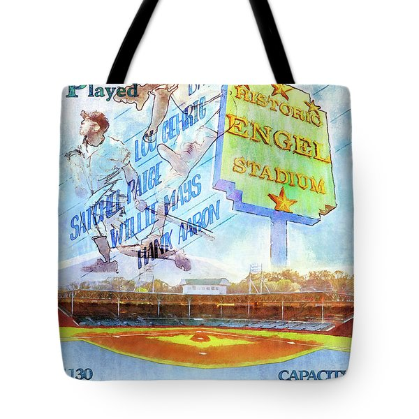 Chattanooga Historic Baseball Poster Tote Bag