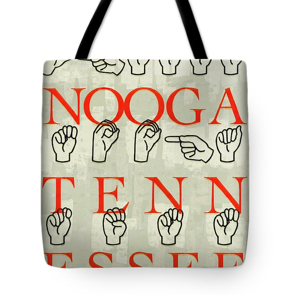 Chattanooga Sign Tote Bag
