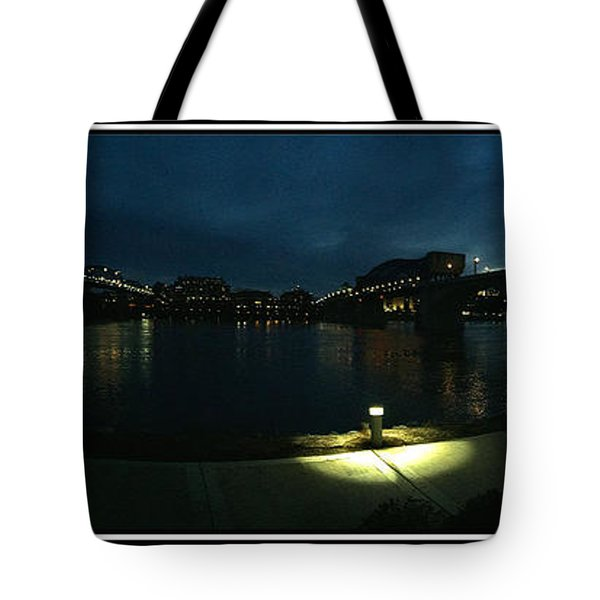 Chattanooga Tote Bag by Steven Lebron Langston