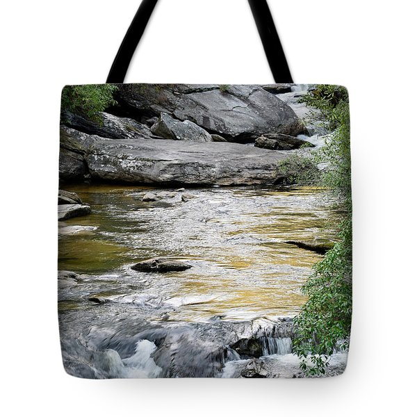 Chattooga River In Sc Tote Bag by Bruce Gourley