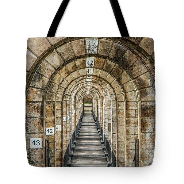 Chaumont Viaduct France Tote Bag
