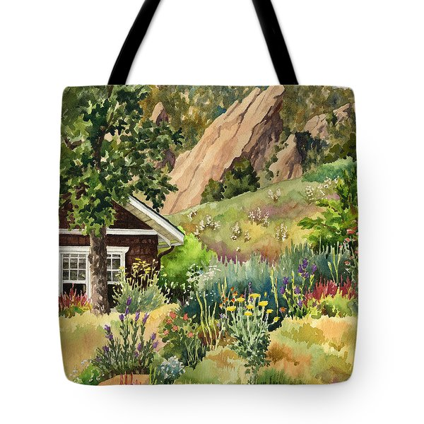 Chautauqua Cottage Tote Bag