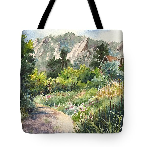 Chautauqua Morning Tote Bag