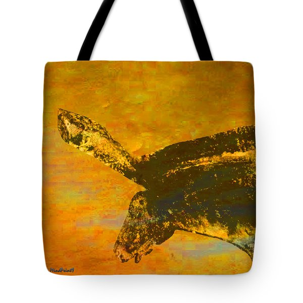 Tote Bag featuring the digital art Chauvet Wild Horse by Asok Mukhopadhyay