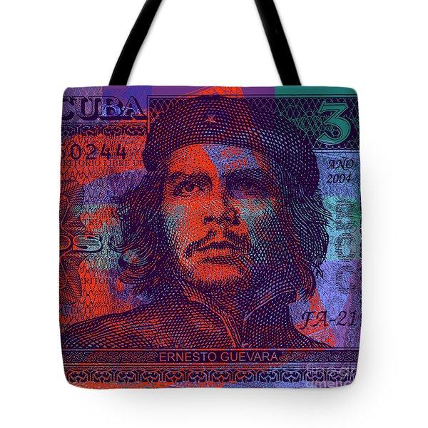 Che Guevara 3 Peso Cuban Bank Note - #3 Tote Bag