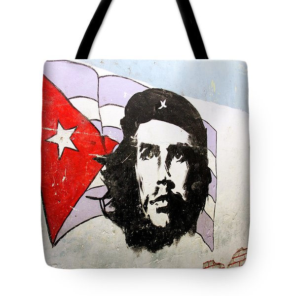 Tote Bag featuring the photograph Che Guevara by Marla Craven